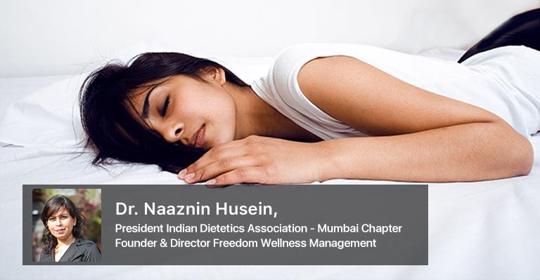 Sleep and Nutrition_Dr.Naaznin Husein