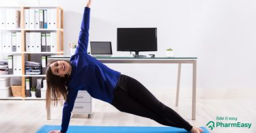 6 Simple Exercises For Your Desk Job! - PharmEasy