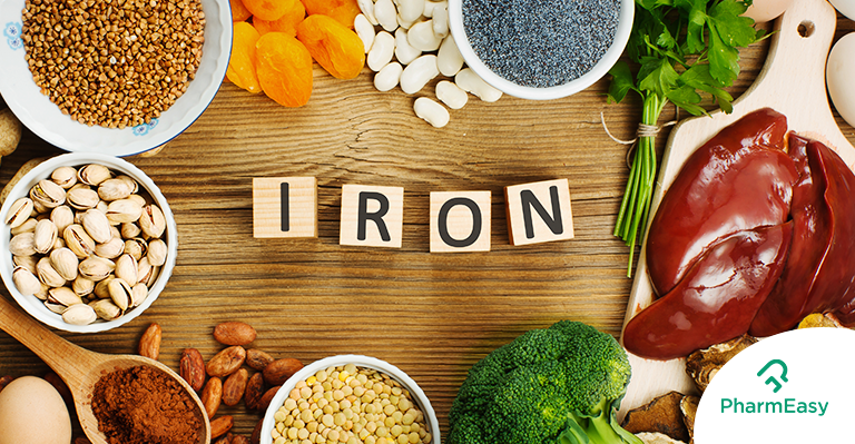10 Iron Rich Foods To Add To Your Diet - PharmEasy
