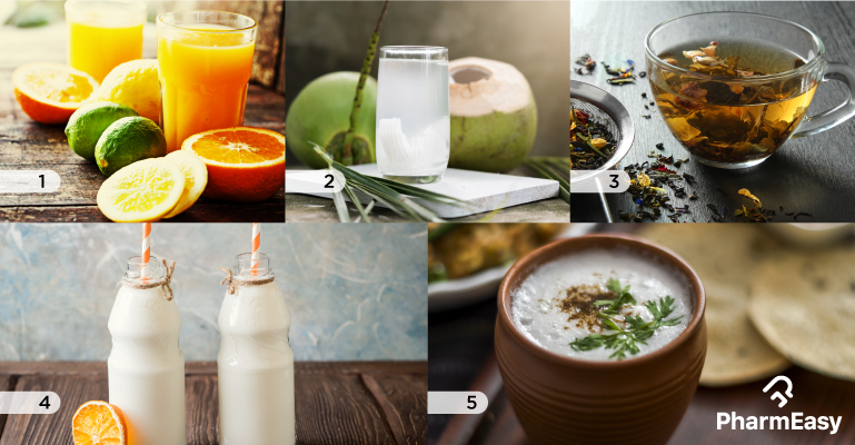 5 Refreshing Drinks To Quench Your Thirst With - PharmEasy