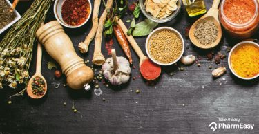 PharmEasy - 6 spices and herbs
