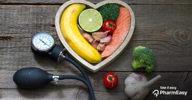 Foods good for high bp
