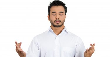 Guy Meditating - Different relaxation technique