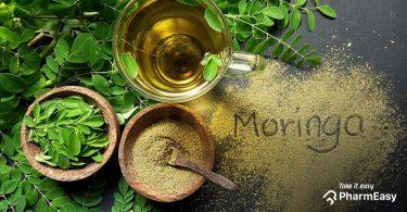 Moringa leaves, powder and oil