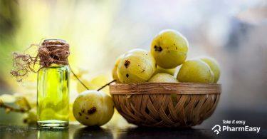 amla fruit and Oil