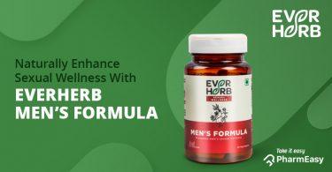 EverHerb Men's Formula Capsules – Boost Your Sexual Health Naturally! - PharmEasy