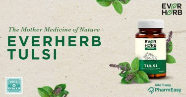 EverHerb Tulsi Capsules - Mother Nature's Secret To Good Health! - PharmEasy