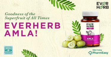 EverHerb Amla Capsules - The Secret To A Strong Immunity! - PharmEasy