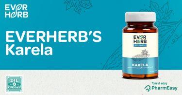EverHerb Karela Capsules - No More BITTER For BETTER Health! - PharmEasy