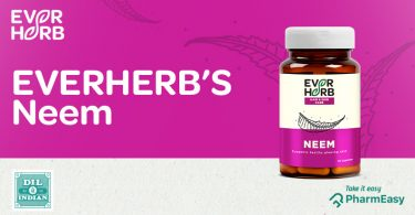 EverHerb Neem Capsules - Get The Skin You Always Wished For! - PharmEasy