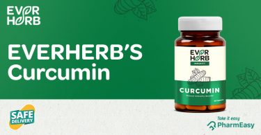 EverHerb Curcumin Capsules - Good Health Is Calling You! - PharmEasy