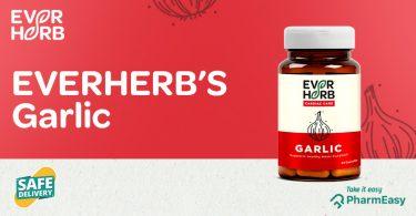 EverHerb Garlic Capsules - The Immunity Booster You Need! - PharmEasy