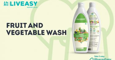 LivEasy Essentials Fruit And Vegetable Wash: Consume Your Fruits And Veggies Worry-Free! - PharmEasy