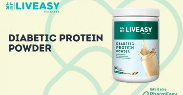 LivEasy Wellness Diabetic Protein Powder - Be In-Charge Of Your Diabetes! - PharmEasy